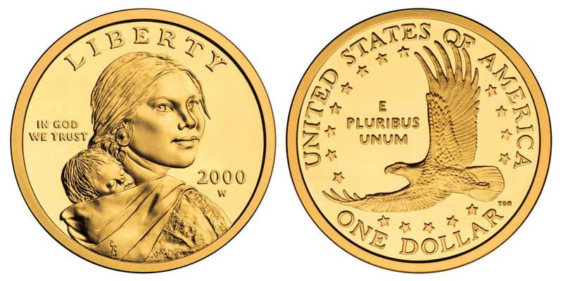Native American & Sacagawea Dollars - Price Charts & Coin Values