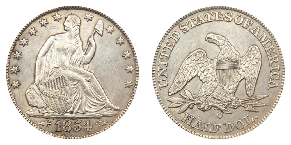 Seated Liberty Half Dollars Us Coin Prices And Values