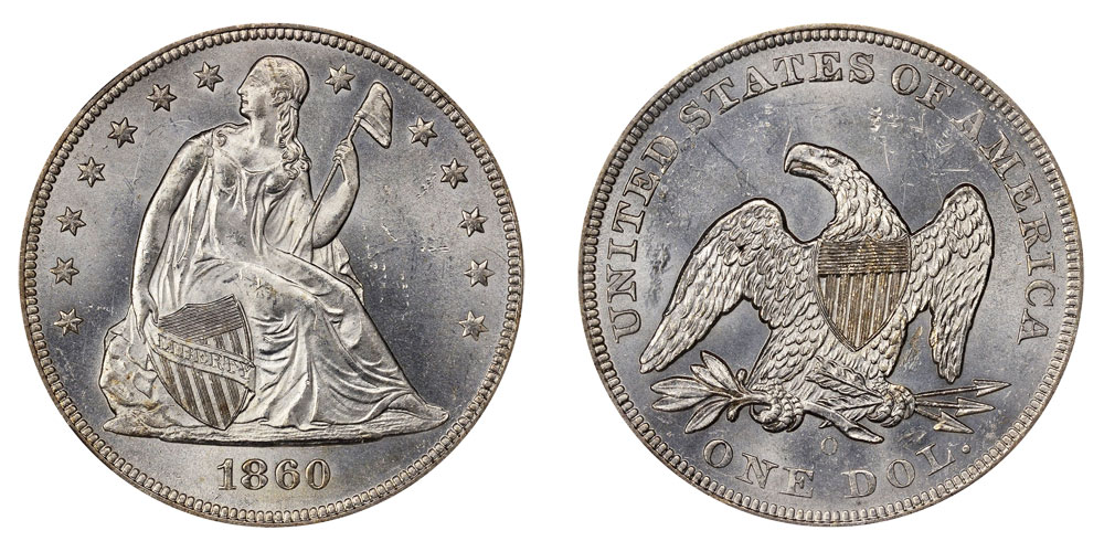 Seated Liberty Dollars Us Coin Prices And Values