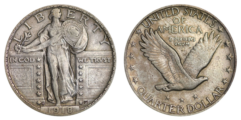 Standing Liberty Quarters Price Charts Coin Values