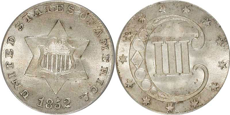Silver Three Cent Us Coin Prices And Values